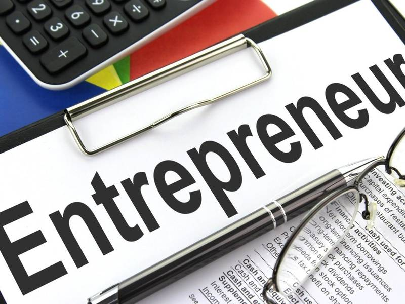How can a person become an entrepreneur